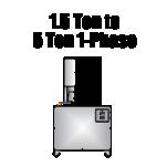 1.5 Ton ton 5 Ton 1-Phase